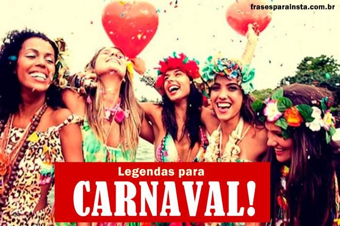 Legendas para Carnaval - Frases de Carnaval 20
