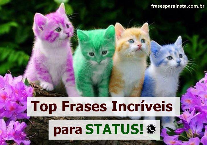 +810 Frases para Status Pequenas e Lindas