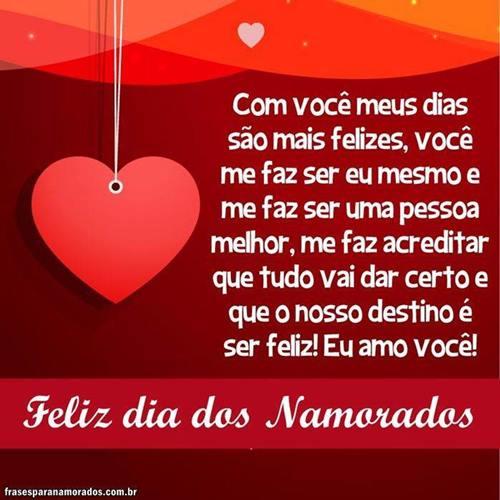 Frases Para Dia Dos Namorados 2018 Bem Românticas Frases Para