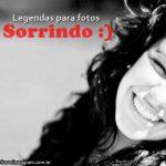 Legendas para Foto Sorrindo