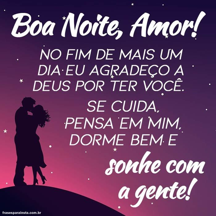 Boa Noite Amor 1