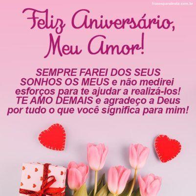 Feliz Aniversário Meu Amor 10
