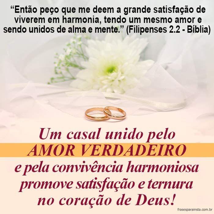 Frase bíblica para casal