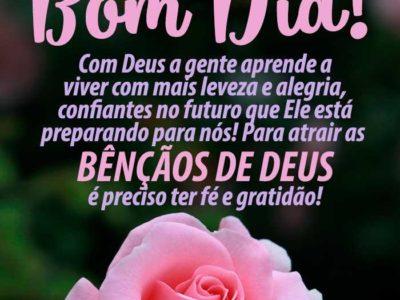 Agradeça a Deus por mais um Dia 2
