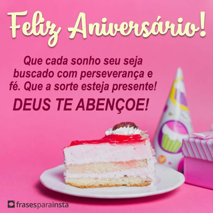 Feliz Aniversário Deus te Abençoe 13