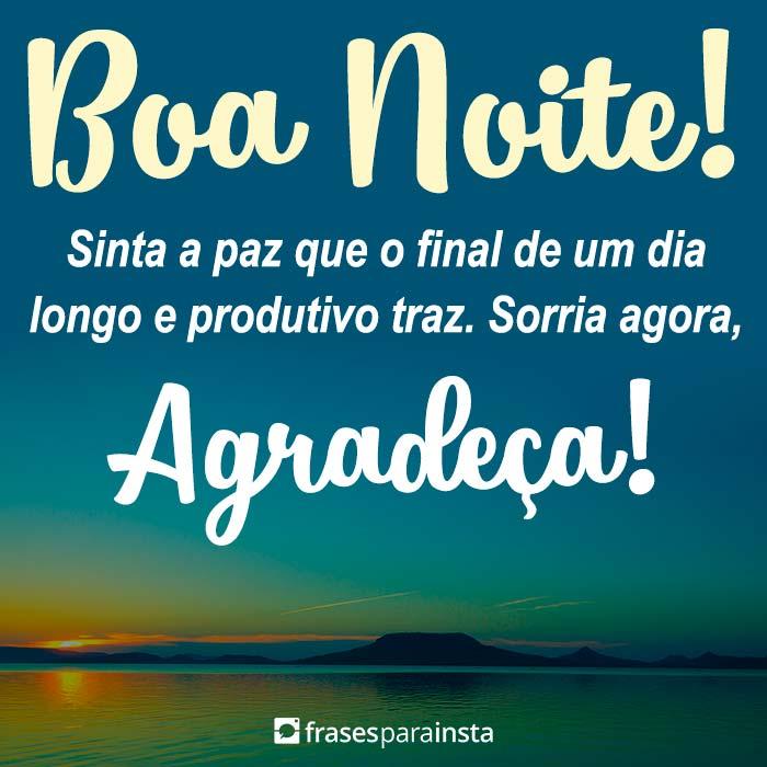 Boa Noite, Agradeça! 1