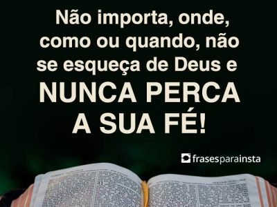 Deus é o Dono da Sua Vida 6