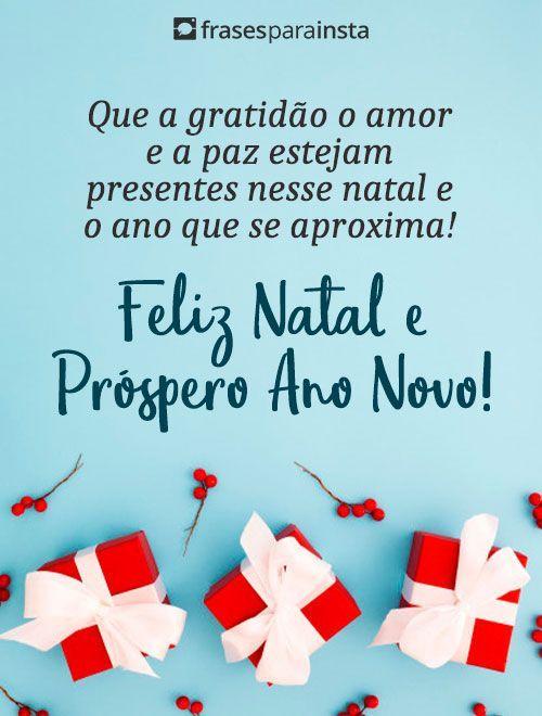 Feliz Natal e Próspero Ano Novo 1
