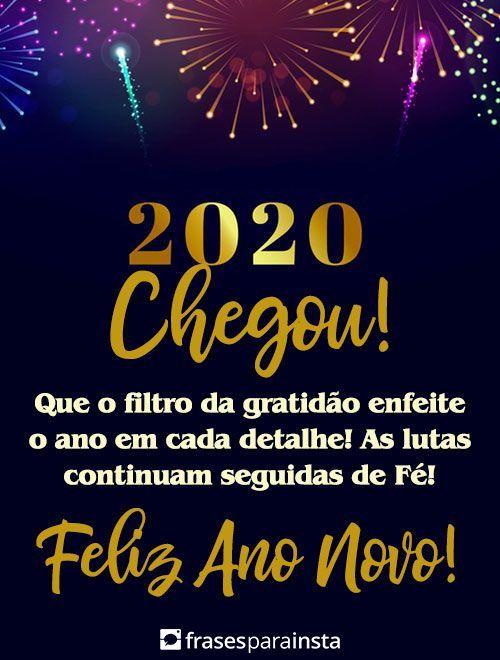 70 Frases De Ano Novo Feliz 2020 Frases Para Instagram