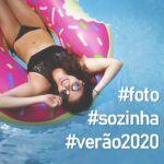 35 Legendas para foto sozinha no verão 2020 e quando postar