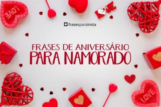 Frases de Aniversário para Namorado; Com muito Amor para Esse Dia Especial 3