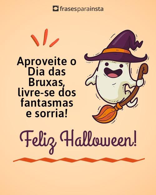 Feliz Dia das Bruxas - Frases de Feliz Halloween
