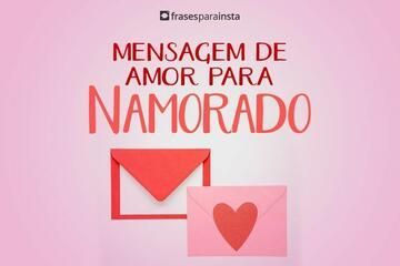 Mensagem de Amor para Namorado