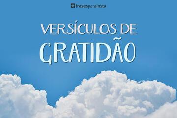 Versículo de Gratidão