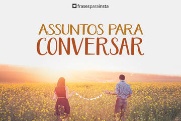 Assuntos para Conversar